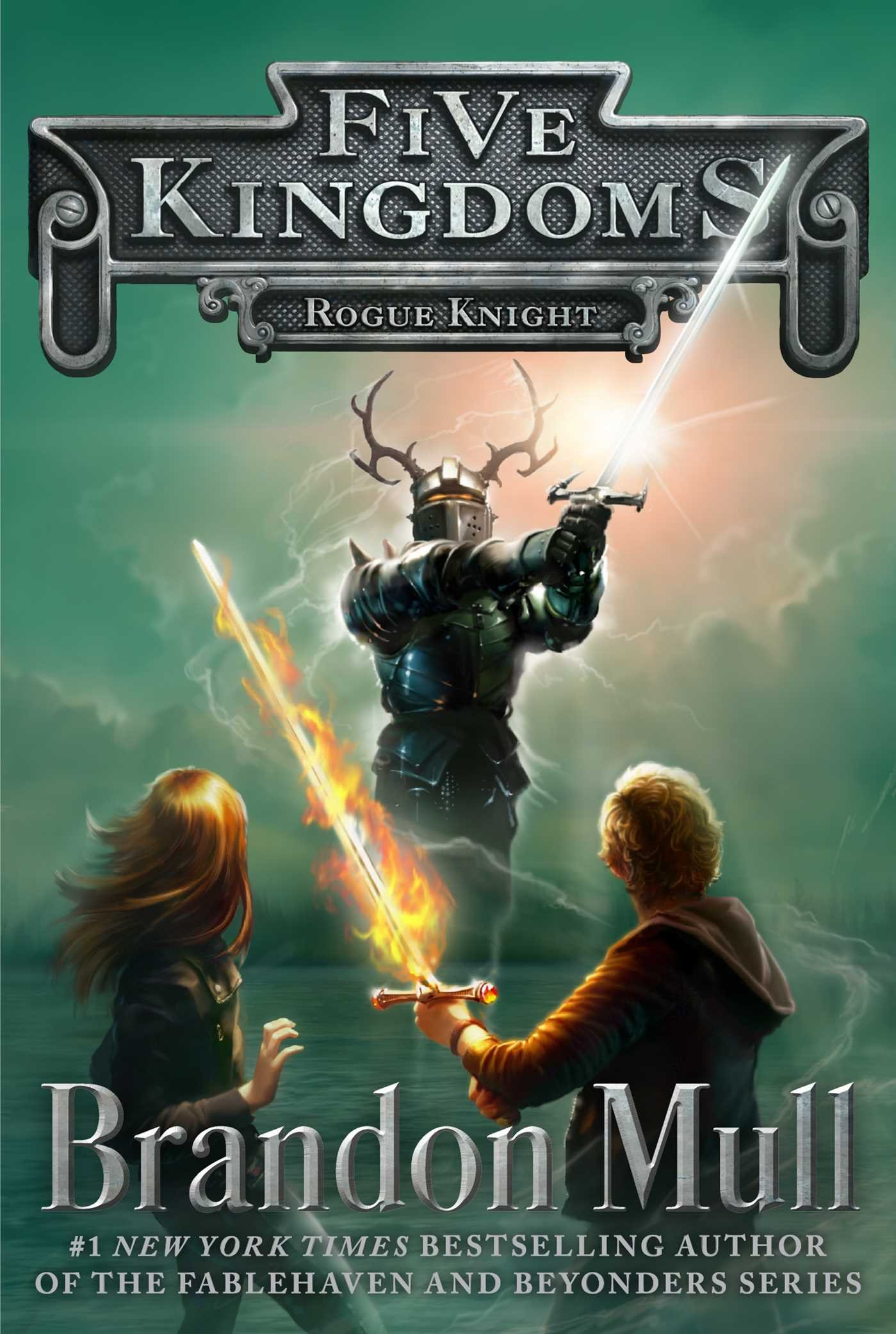 Rogue Knight (Five Kingdoms): Brandon Mull: 9781442497047: Amazon ...