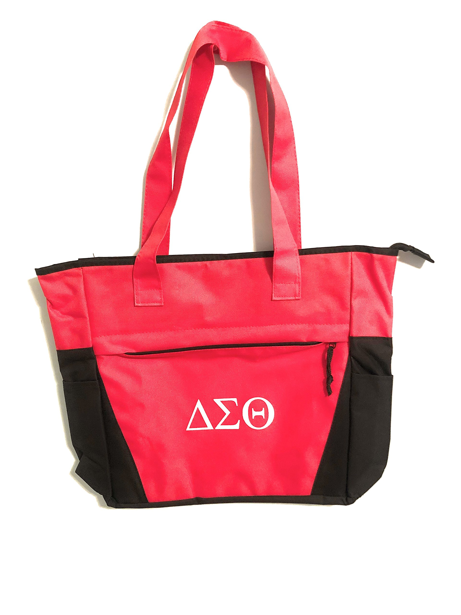 Delta Sigma Theta Sorority Shoulder Tote Bag - Crossing Initiation Graduation Gift Paraphernalia