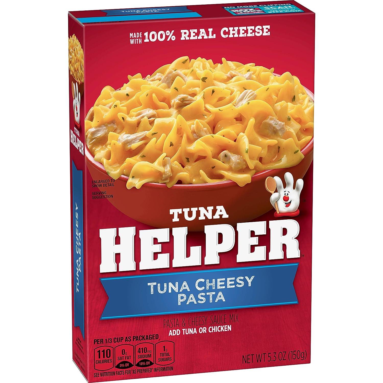 Betty Crocker, Tuna Helper, Tuna Cheesy Pasta, 5.3 oz