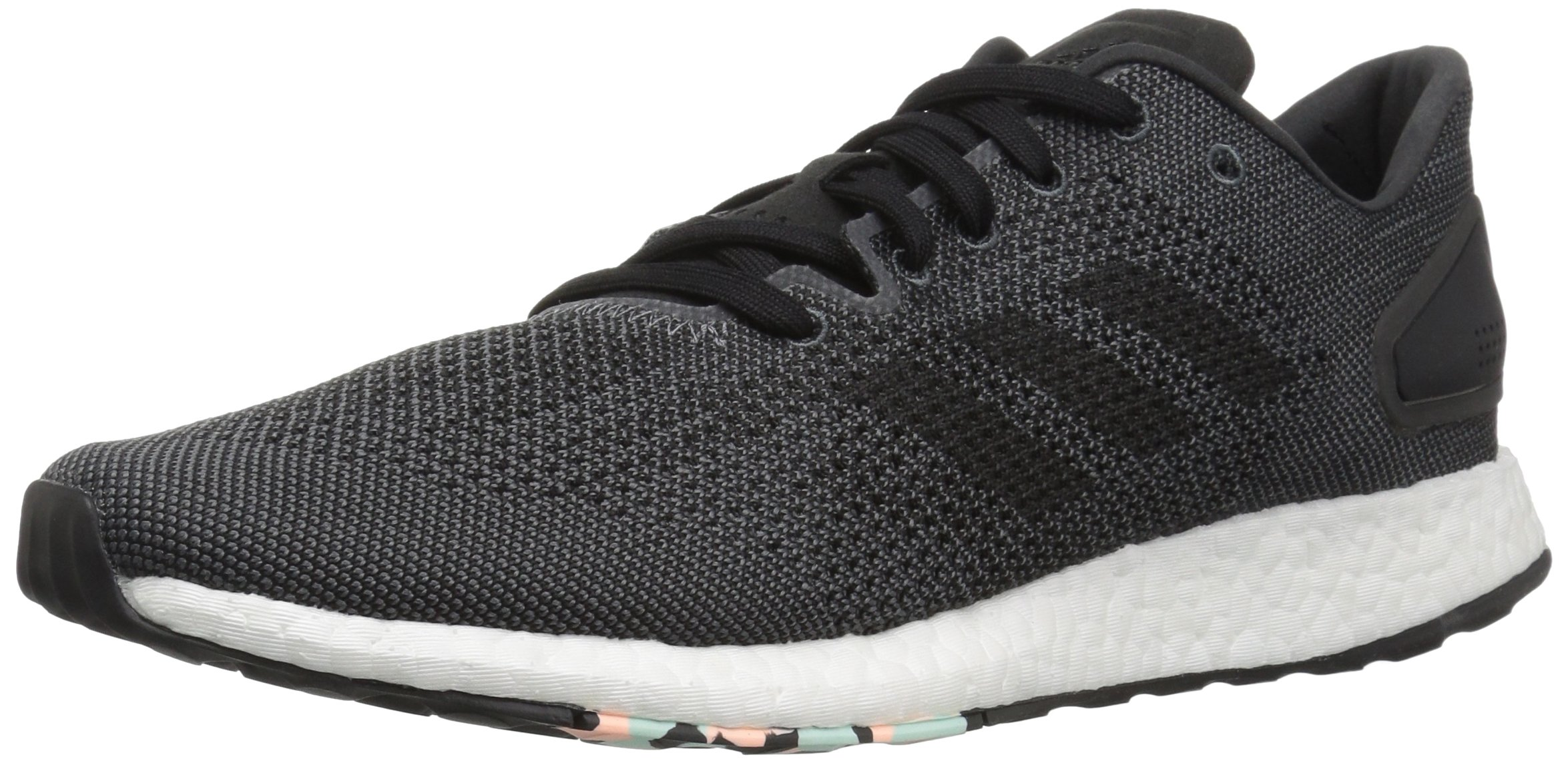 adidas Women's Pureboost DPR Running Shoes, Black/Grey, 6.5 M US by adidas