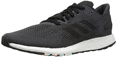 best service 4b88b c48ed adidas Women s Pureboost DPR Running Shoe, Black Grey, ...