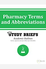 Pharmacy Terms and Abbreviations Kindle Edition