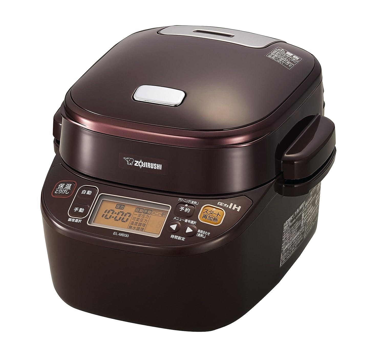 ZOJIRUSHI Electric Pressure Cooker EL-MB30-VD (Bordeaux)【Japan Domestic genuine products】