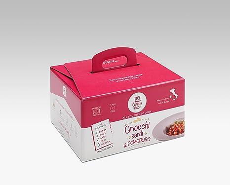 GNOCCHI DE CERDEÑA CON SALSA DE TOMATE Y ALBAHACA My Cooking Box x2 Porciones - Idea