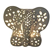 Baby Gifts - Nursery Lamp/Night Light - Grey Elephant (available in multiple animals and colors)