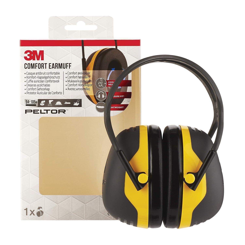 5763ab416 3M X2AC1 ear defender - Ear Defenders (Dark Green, Black, Plastic, Blister)