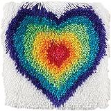 Captivating Wonderart Shaggy From The Heart Latch Hook Kit, ...