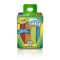Chalk giz de calçada 12 cores - Crayola