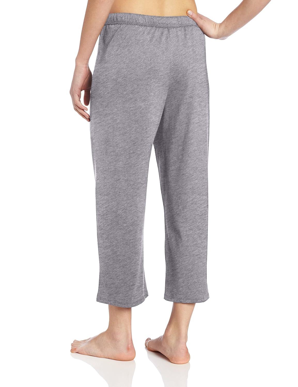 Nautica pijamas Jersey de punto de las mujeres Capri - Pantalones para hombre - Gris - : Amazon.es: Ropa y accesorios