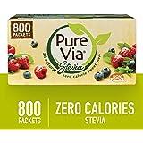 Whole Earth Pure Via Stevia Sweetener 28.2oz (800 packets)
