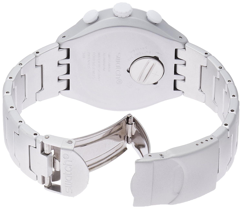 Herren Aluminium Yys4024ag Swatch Mit Uhr Armband Quarz Analog qGSUzLMpV