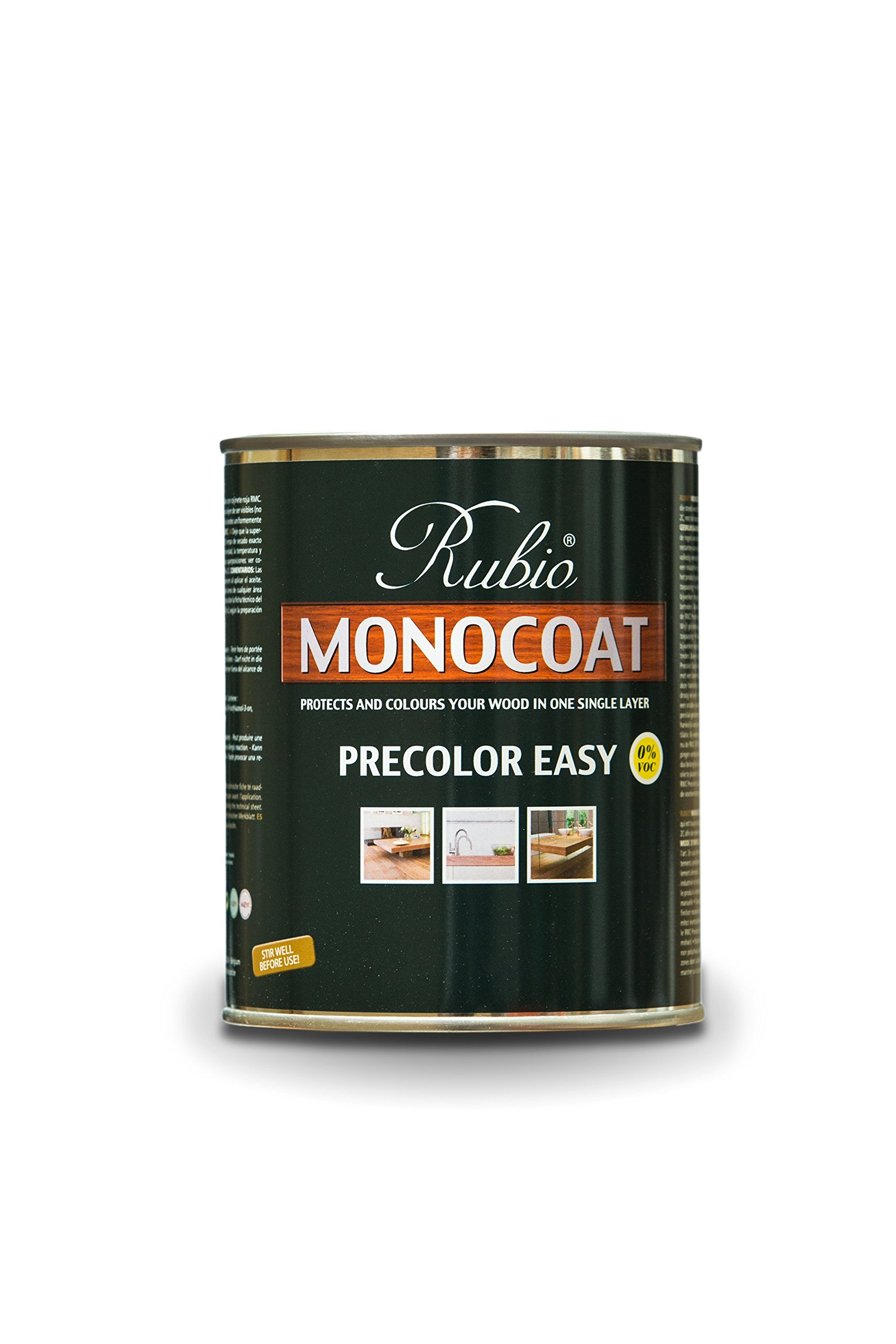 Rubio Monocoat Wood Stain Pre-Color Easy Monsoon Grey 1 Liter by Rubio Monocoat