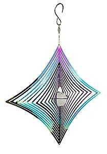Red Carpet Studios Rainbow Cosmo Diamond Wind Spinner
