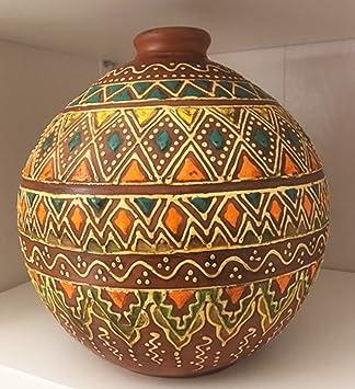 Decoration Orientale Poterie Artisanale Traditionnelle Berbere