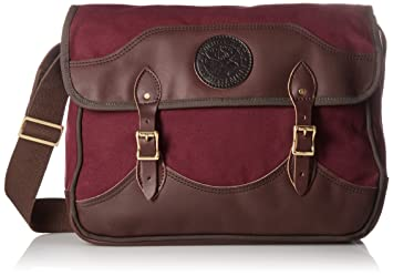 Amazon.com : Duluth Pack Deluxe Book Bag, Burgundy, 11 x 16 x 4 ...