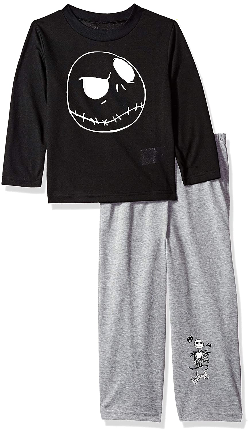 Disney Boys' Nightmare Before Christmas 2 Piece Pajama Set