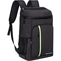Seehonor Insulated Leakproof Soft Cooler Backpack (Black)