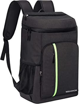 Seehonor Insulated Leakproof Soft Cooler Backpack