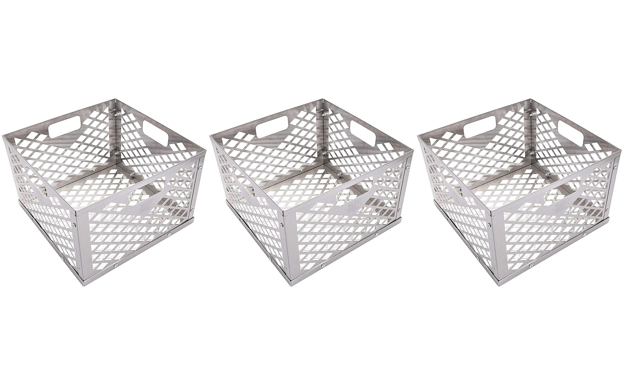Oklahoma Joe's 5279338P04 Firebox Basket, Silver (Тhrее Pаck)