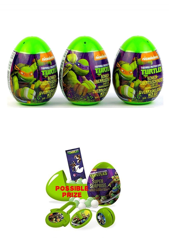 Amazon.com: Three new Teenage Mutant Ninja Turtles surprise ...