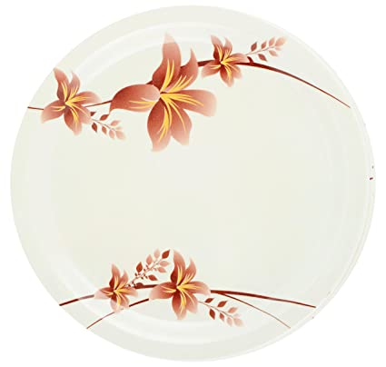 BGV Melamine Dinner Plates 6-Piece Service for 6 Off-White  sc 1 st  Amazon.in & Buy BGV Melamine Dinner Plates 6-Piece Service for 6 Off-White ...