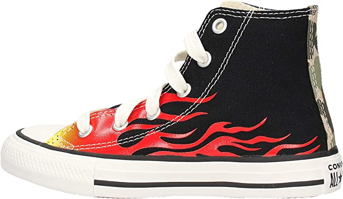 Converse Ctas Hi Sneaker Multicolor da Bambino 668007C