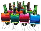 Yani's Gifts 12 Beer Poncho Mini Serapes for