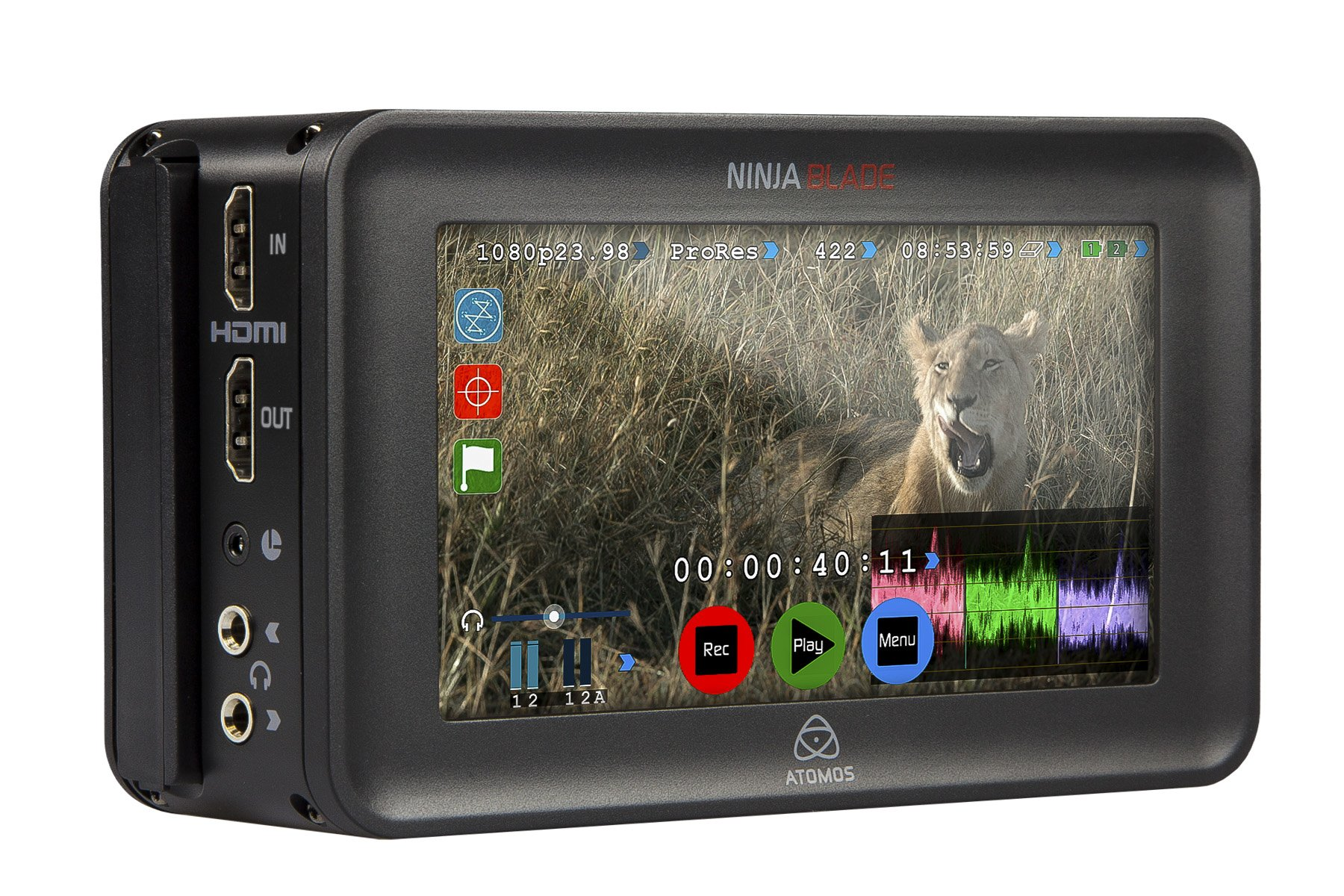 Atomos Ninja Blade 5'' HDMI On-Camera Monitor & Recorder