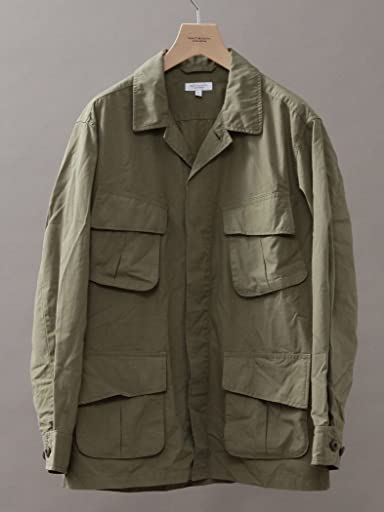 Cotton Fatigue Shirt 1225-199-7875: Olive