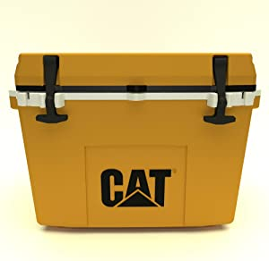 Caterpillar Cat Cooler, Cat Yellow, 27 Quart