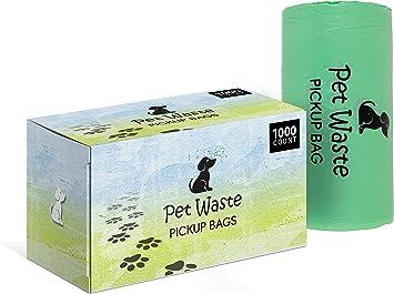 Amazon.com: Bolsas de plástico para popa de perro para casa ...