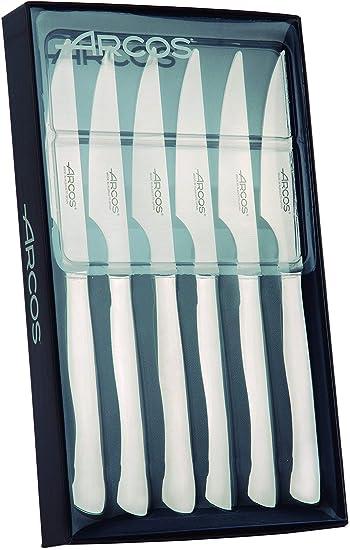 Compra Arcos 378200 - Juego de cuchillos chuleteros, 110 mm (6pzas ...