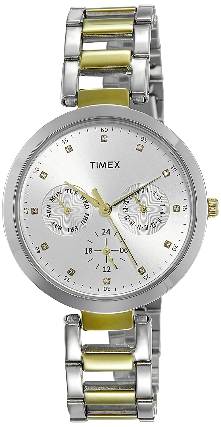 Timex E-Class Analog Silver Dial Women's Watch-TW000X207 ,women's watch/chhayaonline.com