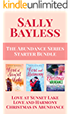 The Abundance Series Starter Bundle: Love at Sunset Lake, Love and Harmony, Christmas in Abundance
