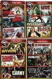 12 Movie Maneater DVD Set: CROC / SEA BEAST / SHARK SWARM / SWAMP DEVIL / EYE OF THE BEAST / BLACK SWARM / WYVERN / SAND…