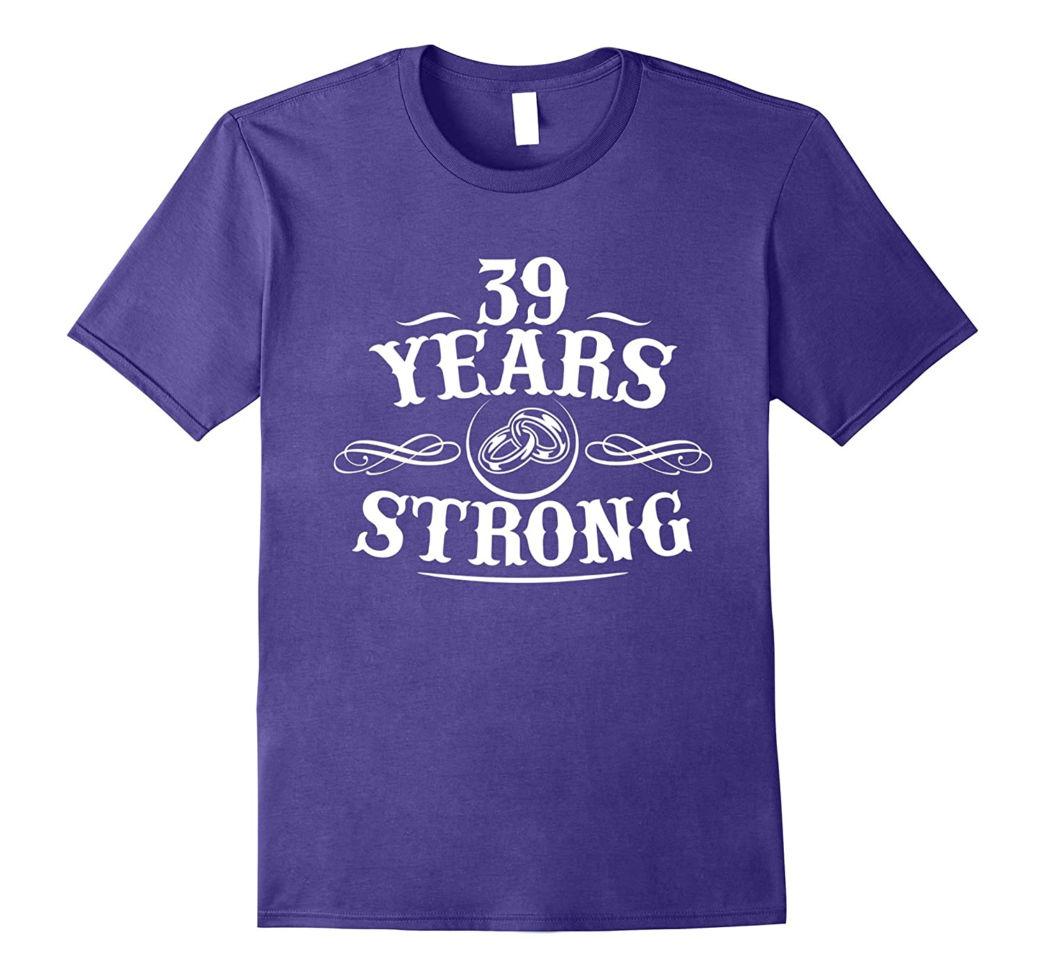 39th Anniversary Shirts. Anniversary Gifts For Couple-FL