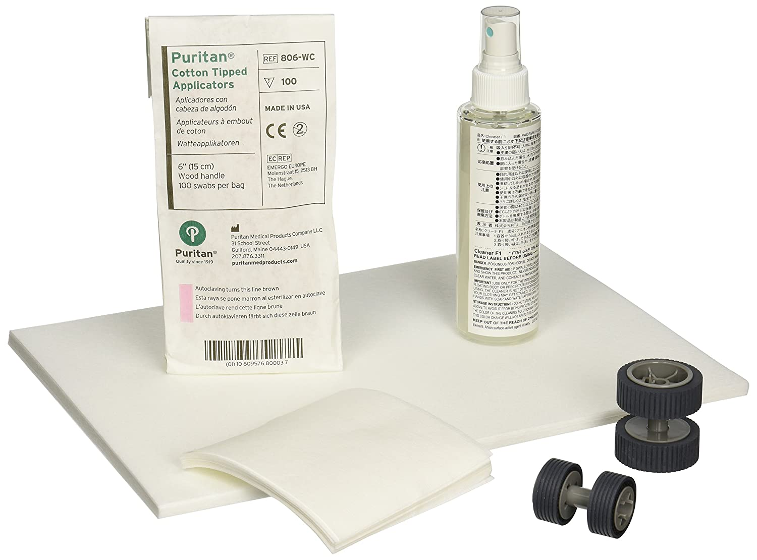 Scanaid Cleaning and Consumable Kit for FI-6X40 Series FUJITSU CG01000-524801