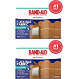 Band-Aid. Brand Flexible Fabric Adhesive Bandages, Assorted Sizes, 2-Pack (200 Count)