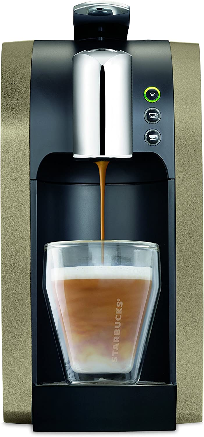 STARBUCKS VERISMO Coffee Machine 580 Base Brewer, Champagne by ...