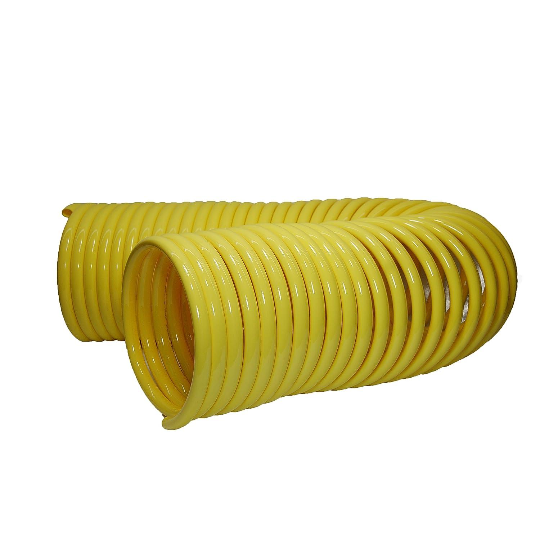 0.5 Coil ID Plastair Industrial SBHB8100-5-U Copolymer Snapback Recoil Air Hose 220 PSI Maximum Pressure 100 Length 0.625 Coil OD