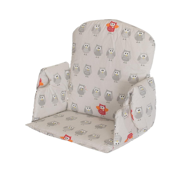 Geuther 4742 - Reductor de silla para bebé, diseño búho, multicolor: Amazon.es: Bebé