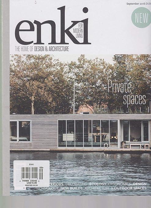 . Amazon com   ENKI FOR MODERN LIVING MAGAZINE OCTOBER 2018  THE HOME