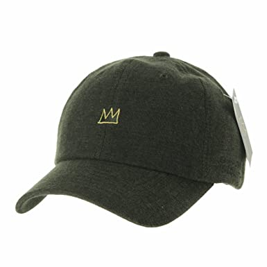 59bea224632 WITHMOONS Baseball Cap Jean-Michel Basquiat Crown CR1501 (Green ...