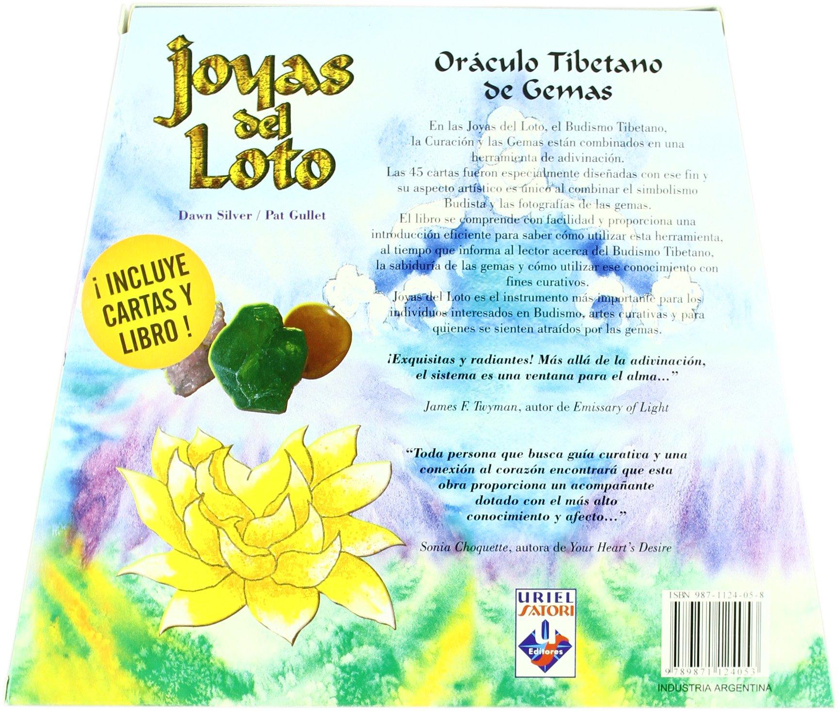 El Libro y Las Cartas del Oraculo Tibetano de Gemas: Amazon ...