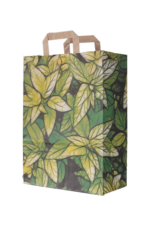 Papiertragetaschen mit Flachhenkel Geschenktüten Papiertüten Tragetaschen Shopper Motiv Motiv Motiv   Vegetation  26  12 x 35 cm (250) B01B6B70NQ | Elegantes und robustes Menü  9eb6dd