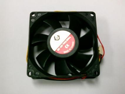 80mm-ventilador/aire T & T/Global Win MW-825M12B DC 12 V 0,12 A 3 ...