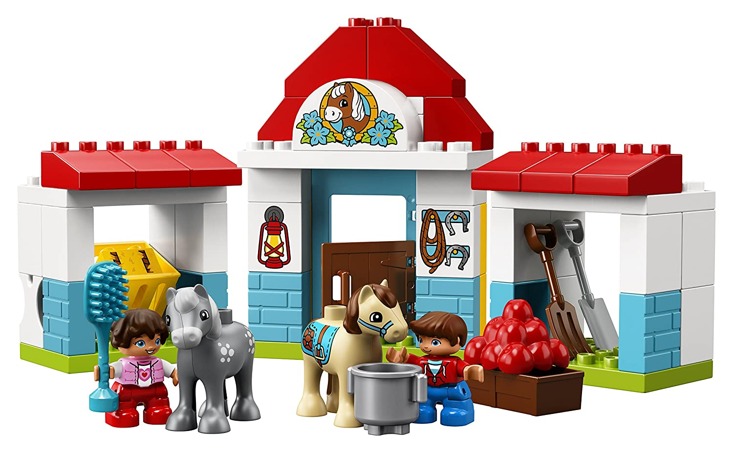 LEGO DUPLO Town Farm Pony Stable