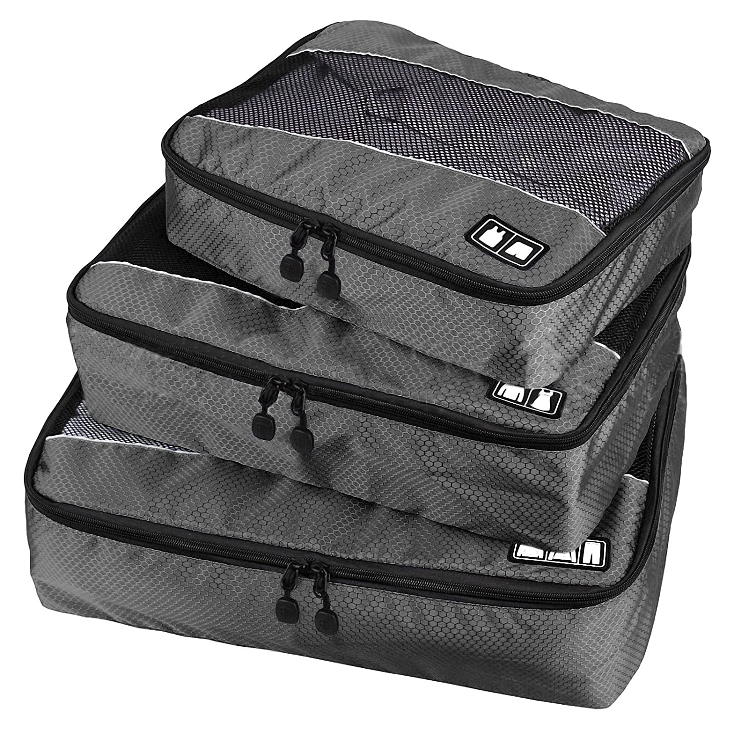 265bc653e21f Amazon.com | Travel Packing Organizers - Clothes Cubes Shoe Bags ...