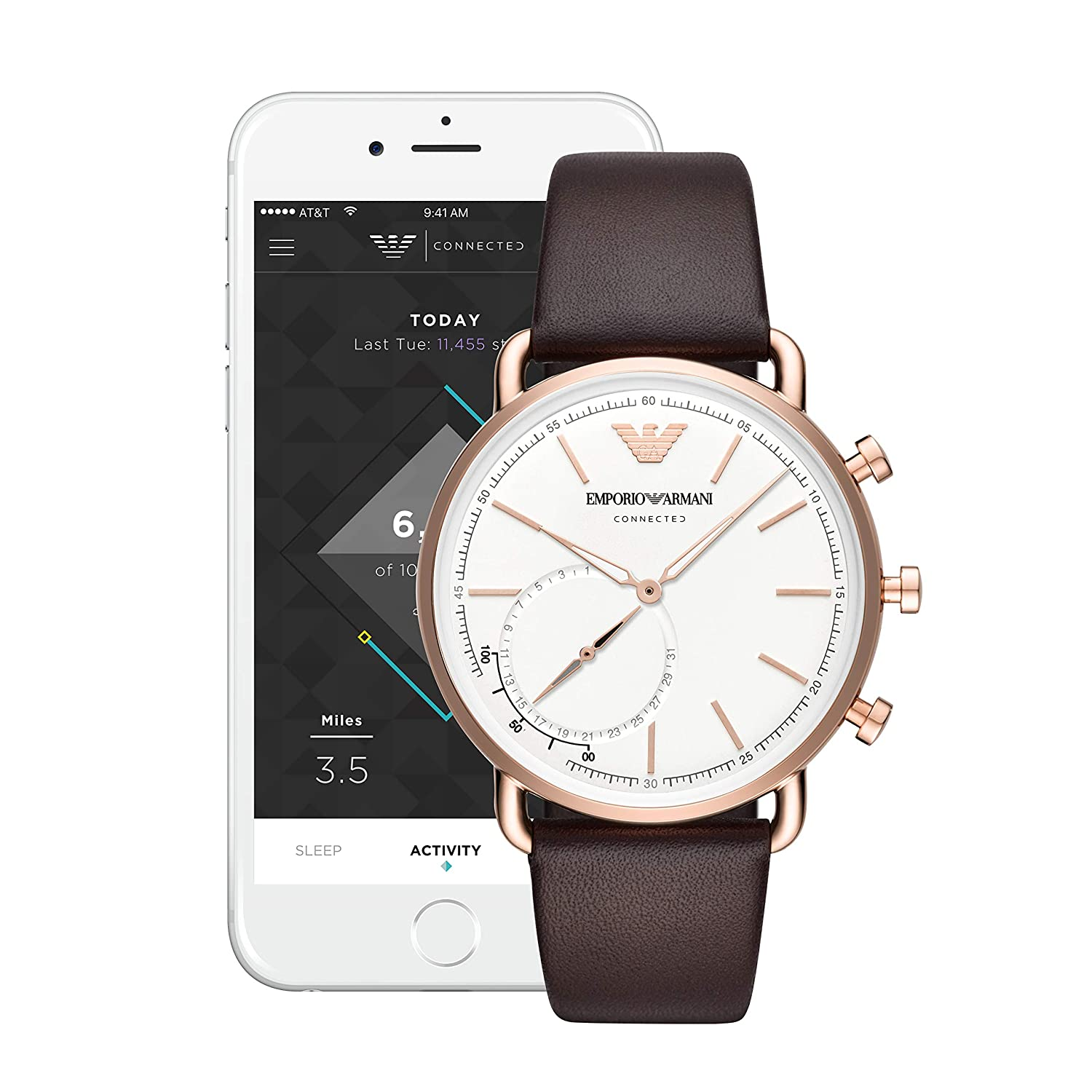 Emporio Armani Connected Smartwatch ART3029: Amazon.es: Relojes