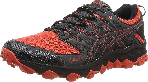 Asics Gel-Fujitrabuco 7 M G-TX 1011a209, Zapatillas de Entrenamiento para Hombre, Gris Red Snapper Dark Grey 600, 46 EU: Amazon.es: Zapatos y complementos